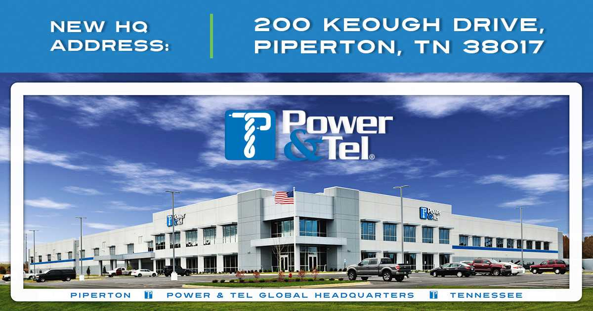 Power & Tel global headquarters in Piperton, TN
